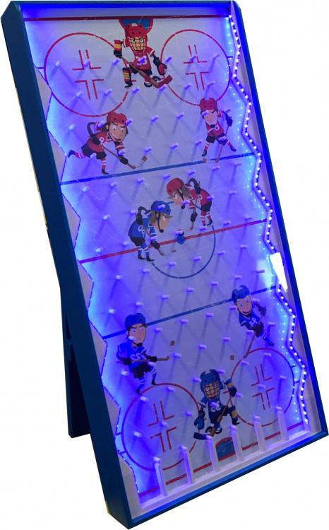 LED Hockey Plinko