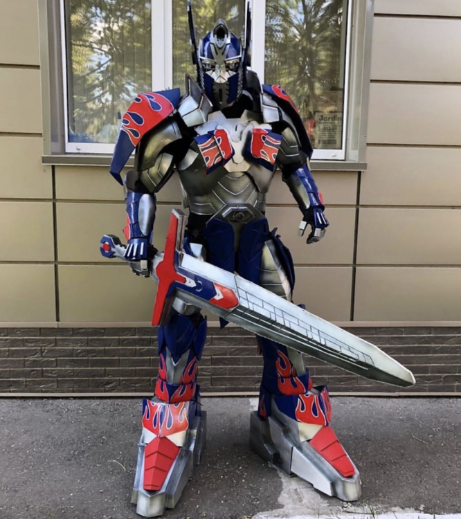 Deluxe Transformer Mascot