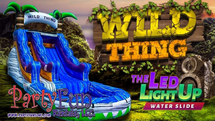 Wild Thing - LED Light Up( Use Wet Only)
